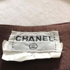 CHANEL Tops - Chanel Silk Blouse